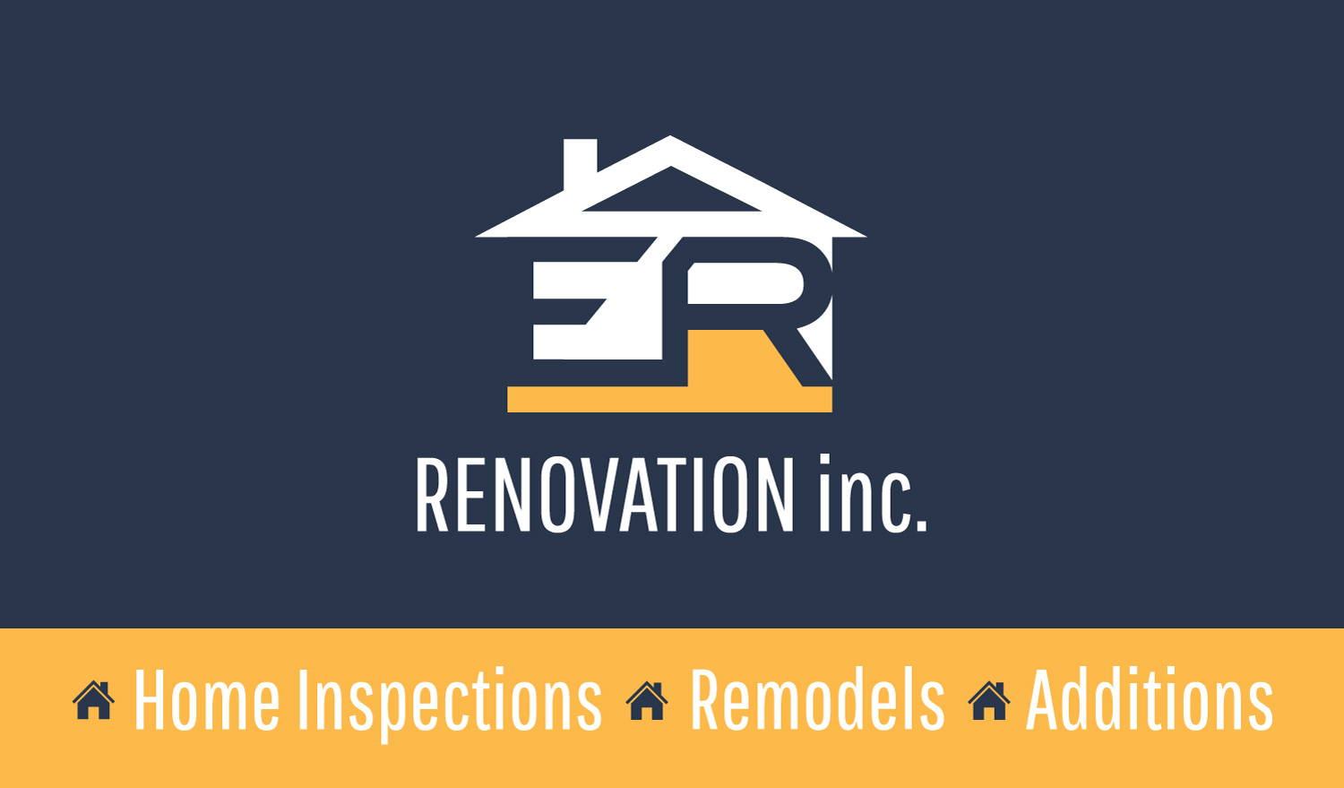 business card for home inspector arkie media this was created in a little over a couple hours and sent off for print the cards should be delivered to his door step within the week thanks ethan
